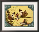 Vintage Fairy Musicians Prints