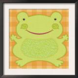 Needlepoint Frog Prints