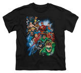 Youth: Justice League America - Heroes Unite T-Shirt