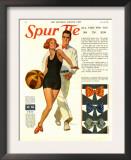 Spur Tie, Magazine Advertisement, USA, 1929 Poster