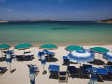 Resort Beach, Baja Sardinia, Sardinia, Italy Photographic Print by Walter Bibikow