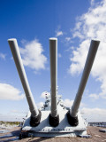 Battleship Memorial Park, World War 2-Era Battleship, Uss Alabama, Mobile, Alabama, USA Photographic Print by Walter Bibikow