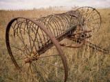 Old Hayrake & Teasle Near Preston, Cache Valley, Idaho, USA Photographic Print by Scott T. Smith