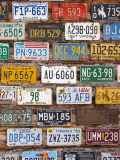 Hole in the Rock Tourist Shop With Old License Plates, Moab, Utah, USA Photographic Print by Walter Bibikow