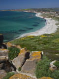 View From the Spanish Tower, Tharros, Sardinia, Italy Photographic Print by Walter Bibikow