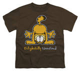 Youth: Garfield - Delightfully Unrefined T-shirts