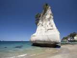Rock Formation, Cathedral Cove, Coromandel Peninsula, North Island, New Zealand Photographic Print by David Wall