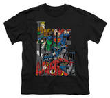 Youth: Justice League America - Lettered League T-shirts