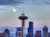 Skyline From Kerry Park, Seattle, Washington, USA Photographic Print by Jamie &amp; Judy Wild