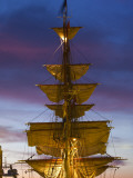 Boston Tall Ships Festival, Dutch Barque Europa, Boston, Massachusetts, USA Photographic Print by Walter Bibikow