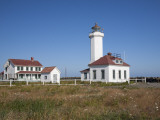 Point Wilson Lighthouse, Port Townsend, Washington, USA Photographic Print by Jamie & Judy Wild