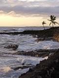 Kona Coastline, Island of Hawaii, USA Fotografisk tryk af Savanah Stewart