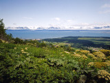 Kachemak Bay From Homer Looking To the Kenai Mountains Across Homer Spit, Alaska, USA Photographic Print by Bernard Friel
