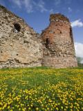 Vastseliina Castle Ruins, 14th Century, Vana-Vastseliina, Estonia Photographic Print by Walter Bibikow