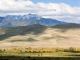 Sand Dunes of Great Sand Dunes National Park and Preserve in the Sangre De Cristo Mountains, CO Photographic Print by Bernard Friel