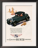 Buick, Magazine Advertisement, USA, 1926 Posters