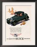 Buick, Magazine Advertisement, USA, 1926 Posters