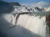 The Hvita River Roars Over Gullfoss Waterfall, Iceland Photographic Print by Don Grall