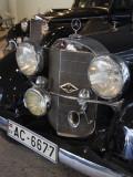 1930s-Era Mercedes Cars, Riga Motor Museum, Riga, Latvia Photographic Print by Walter Bibikow