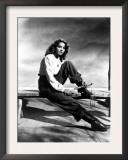 Jennifer Jones, Portrait with Whip Prints
