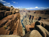 Toroweap Overlook a Panorama of the Canyon From Rim To River, Grand Canyon National Park, AZ Photographic Print by Bernard Friel