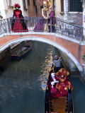 People Dressed in Costumes For the Annual Carnival Festival, Venice, Italy Photographic Print by Jim Zuckerman