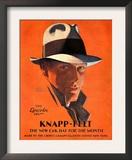 Knapp-Felt, Magazine Advertisement, USA, 1920 Art