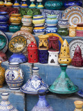 Pottery, Essaouira, Morocco Fotografisk tryk af William Sutton