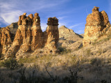 Pinnacles in Red Canyon, Big Bend National Park, Texas, USA Photographic Print by Scott T. Smith