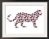 Pink Jaguar Prints by  Avalisa