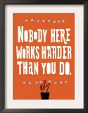 Nobody Works Harder Art