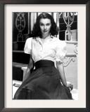Portrait of Vivien Leigh Posters