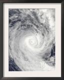 Tropical Cyclone Oli Off the Coast of Tahiti Art
