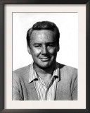 Van Johnson, Wearing a Sweater and Striped Shirt Poster