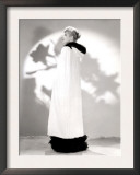 Lucille Ball Models a Cape for a Publicity Still, 1940's Print