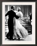 Swing Time, Fred Astaire, Ginger Rogers, 1936 Poster