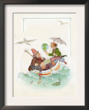 Nursery Rhyme, Mother Goose Print