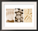 Beach Patterns Triptych Print