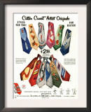 Cutter Cravat, Magazine Advertisement, USA, 1950 Prints