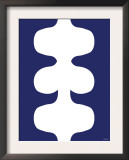 Navy Design Negative, no. 115 Poster by  Avalisa