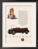 Cadillac, Magazine Advertisement, USA, 1927 Prints