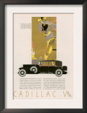 Cadillac, Magazine Advertisement, USA, 1931 Posters