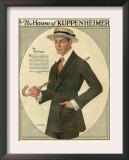 Kuppenheimer, Magazine Advertisement, USA, 1910 Prints