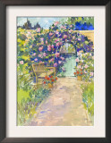 Garden Bench and Gate Posters