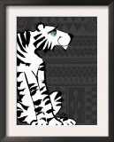 Retro Tiger Prints