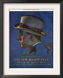 Knapp-Felt, Magazine Advertisement, USA, 1920 Posters