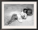 Paulette Goddard, Reclining on Her Sailboat, 1940 Prints