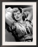 Lucille Ball, Publicity Portrait, November 1940 Print