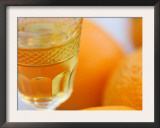 Orange Reflections Poster by Nicole Katano