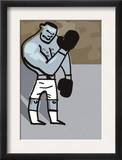 Boxer Cartoon Prints